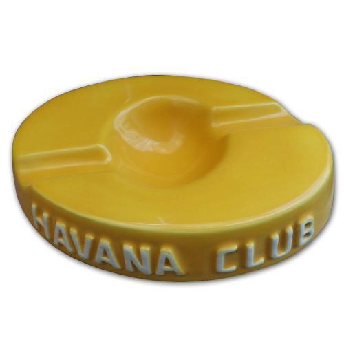 Havana Club Collection Ashtray – Double Cigar Ashtray Yellow NEW