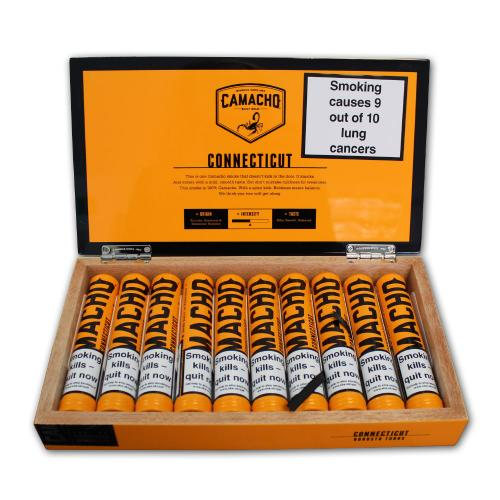 Camacho Connecticut Robusto Tubed Cigar - 10\'s