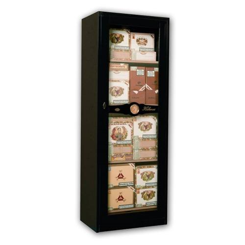 \'Manhattan\' Humidor - Piano Black 2,000 Cigar