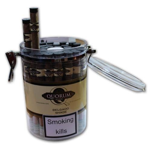 Quorum Delgado - Jar of 40 Tubed Cigars