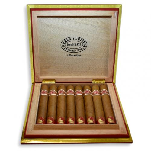 Romeo y Julieta Maravilla 8 Cigar - Box of 8