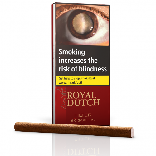 Ritmeester Royal Dutch Filter Cigar – 5\'s