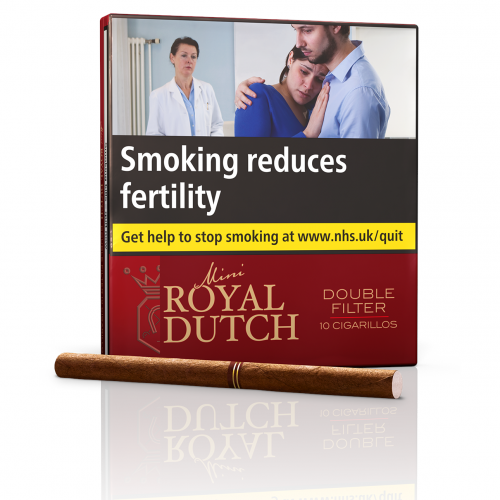 Ritmeester Royal Dutch Double Filter Red - 10s