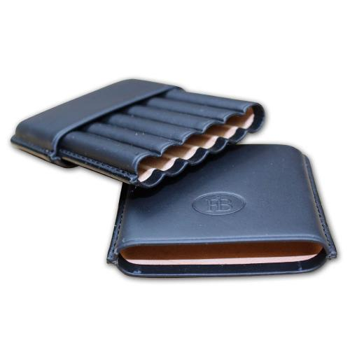 Cigarillo Blue Leather Case - 6