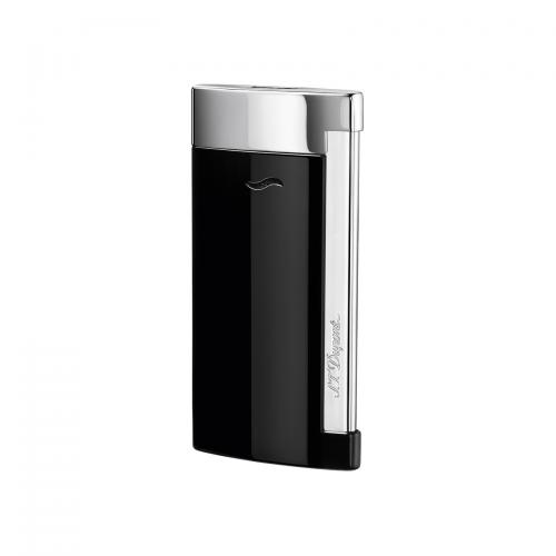 ST Dupont Slim 7 – Flat Flame Torch Lighter - Black Lacquer