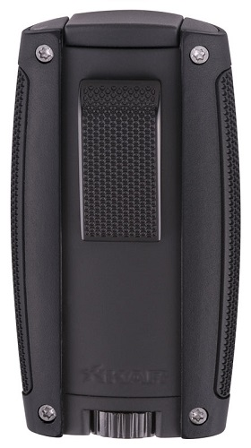 Xikar Turismo Double Jet Lighter - Matte Black