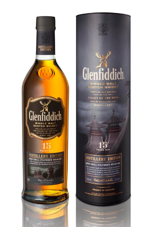 Glenfiddich 15 Year Old Distillery Edition 70cl 51.0%