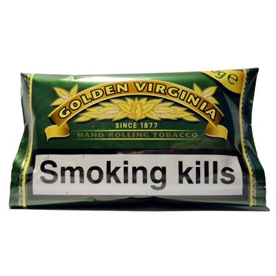 Golden Virginia Hand Rolling Tobacco (50g)