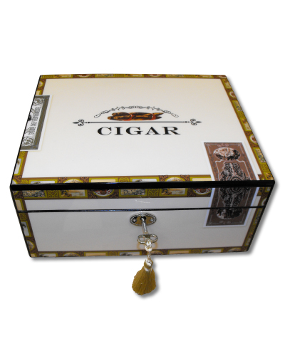 Cigar Box Humidor – 60 Cigar capacity