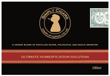 Humidor Humidification Solution 100ml