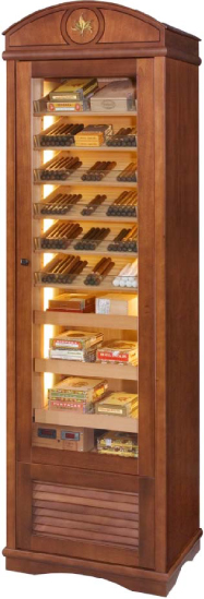 Tiempo Miss Clima Free Standing Humidor