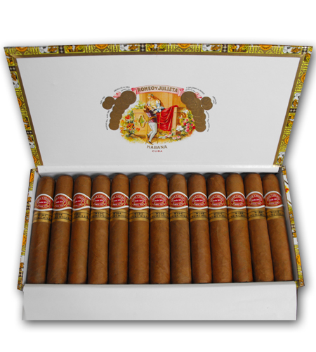 Romeo y Julieta Wide Churchill - 25\'s