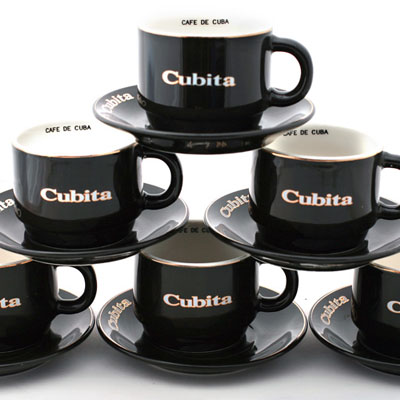 Cubita Espresso Cup & Saucer (single)
