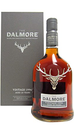 Dalmore 20 Year Old Vintage 1996 Single Malt Scotch Whisky - 70cl 45%