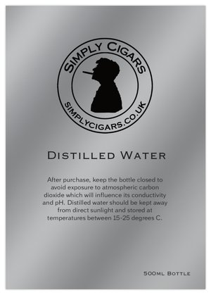 Simply Distilled Water - 500cl