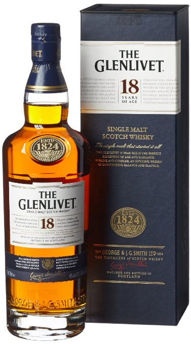 Glenlivet 18 Year Old Whisky 70cl