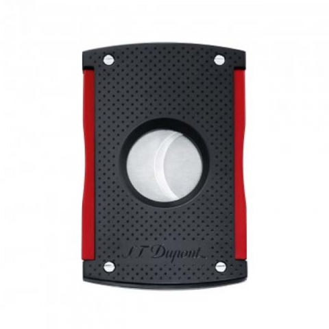 ST Dupont Cigar Cutter – Maxijet - Red and Black