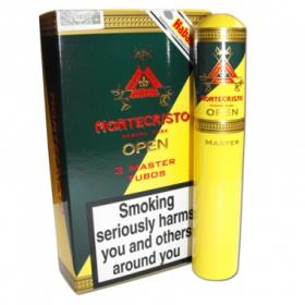 Montecristo Open Master Tube - Pack of 3