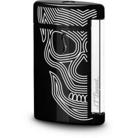 ST Dupont Lighter – Minijet – Black Skulls
