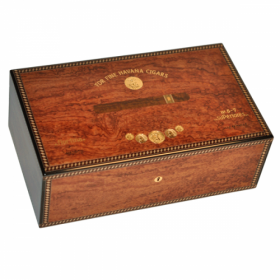 Elie Bleu Medals Collection Bubinga Humidor - 120 Cigar