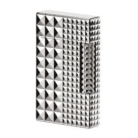 ST Dupont Lighter – Ligne 2 – Palladium Diamond Head
