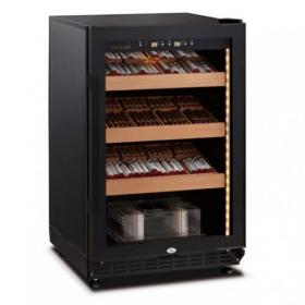 Swisscave Cigar Cabinet Black Climate Controlled Humidor - 600 Capacity