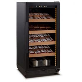 Swisscave Cigar Cabinet Black Climate Controlled Humidor - 800 Capacity
