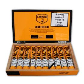 Camacho Connecticut Robusto Tubed Cigar - 10's
