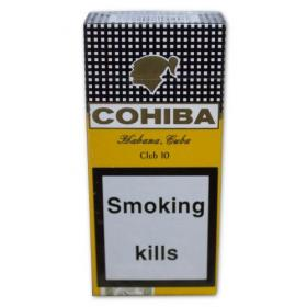 Cohiba Clubs Cigarillos- Pack of 10