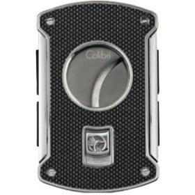 Colibri Slice Cutter - Black Carbon Fibre and Polished Chrome
