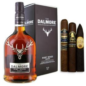 Dalmore Port Wood Reserve & Cigar Sampler