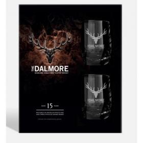 Dalmore 15 Year Old 1x70cl Whisky Gift Pack With 2 Glasses