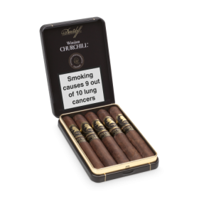 Davidoff Winston Churchill Late Hour LE 2020 Petit Panatela Cigar - Tin of 5