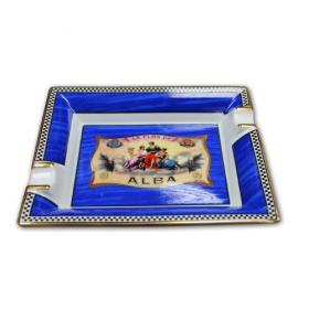 Elie Bleu Porcelain Cigar Ashtray - Alba Blue