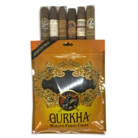 Gurkha Toro Selection Sampler Bag - 6 Cigars