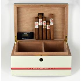 Hoyo de Monterrey Humidor and Cigar Selection Sampler - 5 Cigars