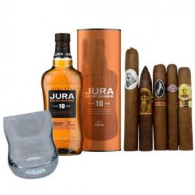 Jura 10 Year Old + Luxury Cigar Selection Pairing