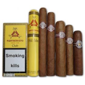 Montecristo Selection sampler – 6 Cigars NEW