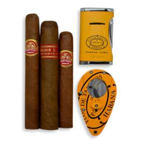 Patagas Cigars & Cutter and Lighter Set Sampler