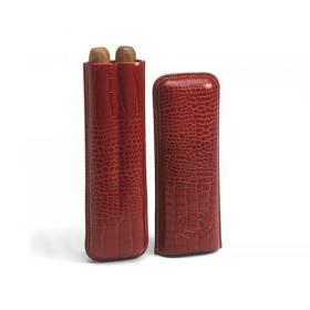 Romeo y Julieta Valentines Leather Case with 2 Churchill Cigars