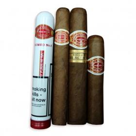Romeo y Julieta Medium Sampler - 4 Cigars