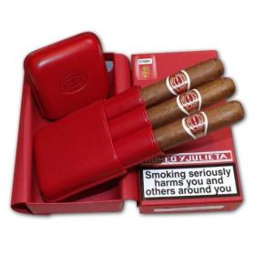 EMS Romeo y Julieta Exhibition No. 4 – Leather Pouch Gift Pack – 3 Cigars