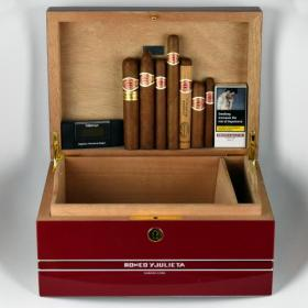 Romeo y Julieta Humidor and Cigar Selection Sampler - 17 Cigars