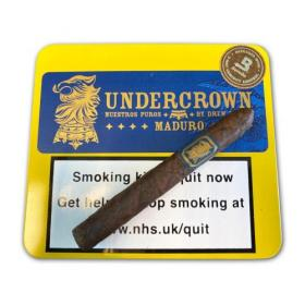 Drew Estate Undercrown Maduro Coronet Cigar - Tin of 10