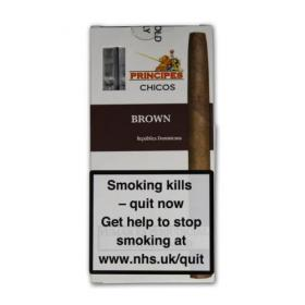 La Aurora Principe Chicos Brown Cigars - 5's