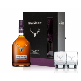 Dalmore Port Wood Reserve Glass Pack – 70cl and 2 Glasses