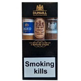 Dunhill Celebration Sampler – 3 Robusto Cigars NEW
