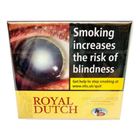 Ritmeester Royal Dutch Miniature Yellow –10's