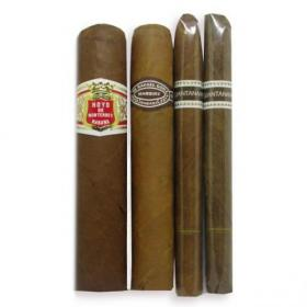Small and Light Beginners Cuban Sampler - 4 Cigars