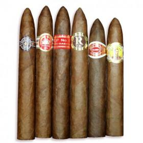 Piramides Cuban Selection Sampler - 6 Cigars